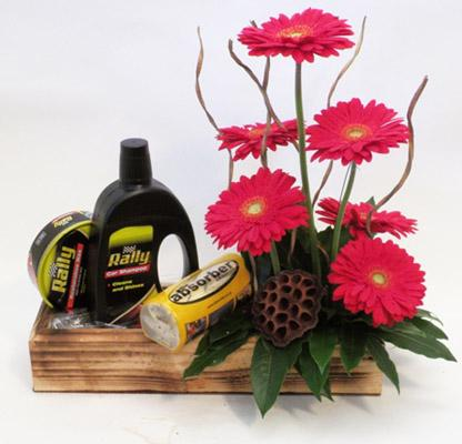 Flora Niche South Africa-TLC for Car-Flowers and Car Wash Kit